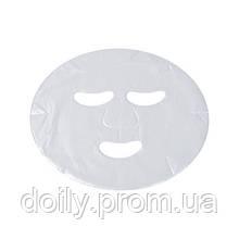 Маски-салфетки косметологические для лица Doily (100 шт/пач) из полиэтилена