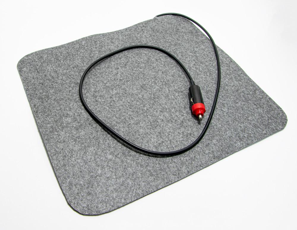 Инфракрасный коврик с подогревом грелка для авто, размер 37х32 см, с доставкой Трио 02301