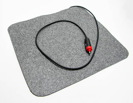 🔝 Инфракрасный коврик с подогревом Трио, грелка для авто, размер 37х32 см, с доставкой  | 🎁%🚚, фото 2
