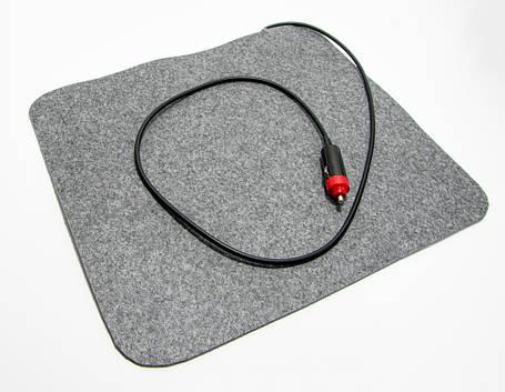 Инфракрасный коврик с подогревом грелка для авто, размер 37х32 см, с доставкой Трио 02301, фото 2