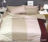 Евро комплект постельного белья Color mix CM-01, фото 2