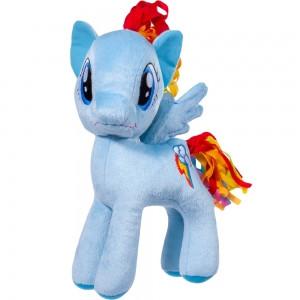 М'яка іграшка літл Поні блакитна Веселка Stip Молдова 30см