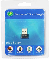 USB Bluetooth 4.0 Адаптер для ПК або ноутбука CSR