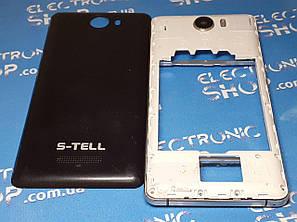 Корпус с рамкой и средней частью S-tell P770 оригинал б.у., фото 2