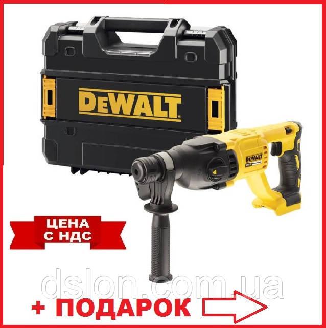 Перфоратор DeWALT DCH133NT с чемоданом  аккумуляторный, SDS-Plus, 18 В, 2.6 Дж, 3 режима, , вес 2.77 кг
