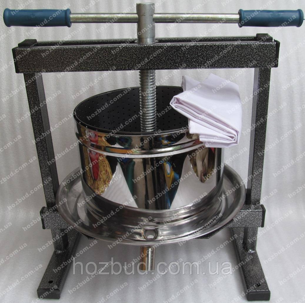 Пресс ручной для сока Вилен (10л нержавейка)