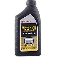Моторне масло Toyota Motor Oil 0W-16 0,946 л, фото 1