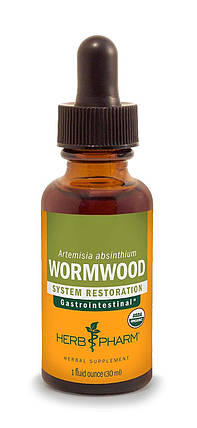 Полин гіркий, екстракт, Herb Pharm Wormwood Extract, фото 2