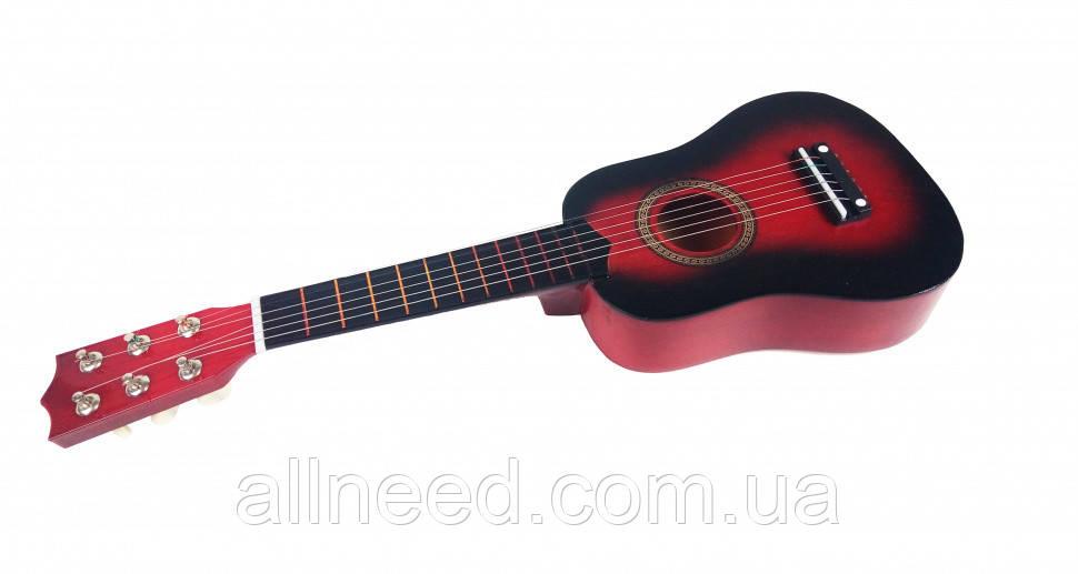 Гитара детская Красная