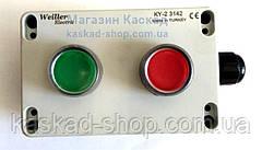 Кнопковий пульт автобетонозмішувачів (на 2 кнопки)
