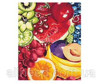 """Картина по номерам Цветы """"Сладкие фрукты"""" 40*50см"""