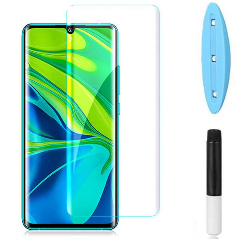 Защитное 3D стекло Mocolo с УФ лампой для Xiaomi Mi Note 10 / Note 10 Pro / Mi CC9 Pro /Note 10 Lite