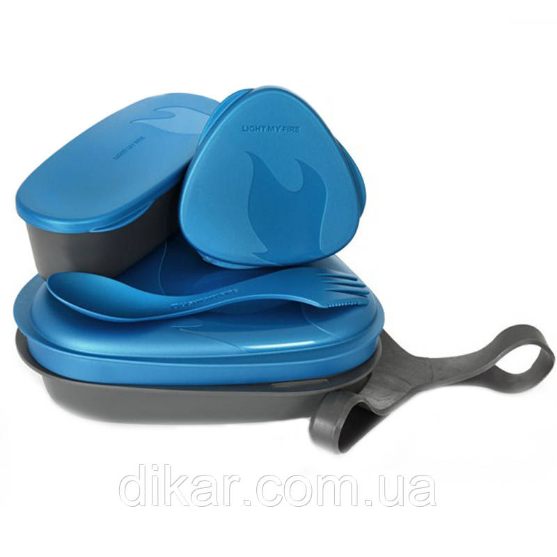 Набор посуды LIGHT MY FIRE LunchKit (6 предметов) синий
