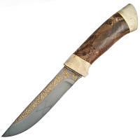 Нож АиР Бекас, рукоять кап (длина: 26.0см, лезвие: 13.5см), ножны кожа, подарочный, фото 1