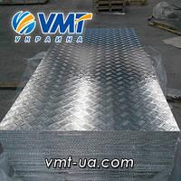 Алюминиевый рифленый лист 2,5 мм (алмаз, дуэт, квинтет, чечевица)