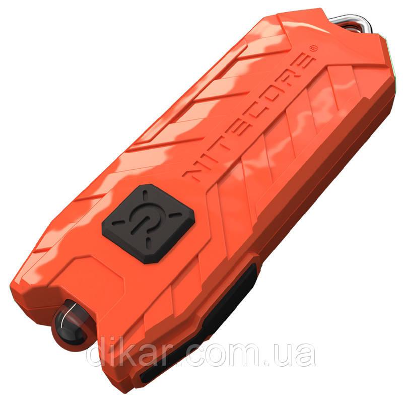 Фонарь наключный Nitecore TUBE (1 LED, 45 люмен, 2 режима, USB), гиацинт