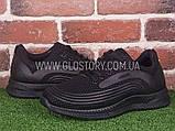 Чоловічі чорні кросівки, фото 2