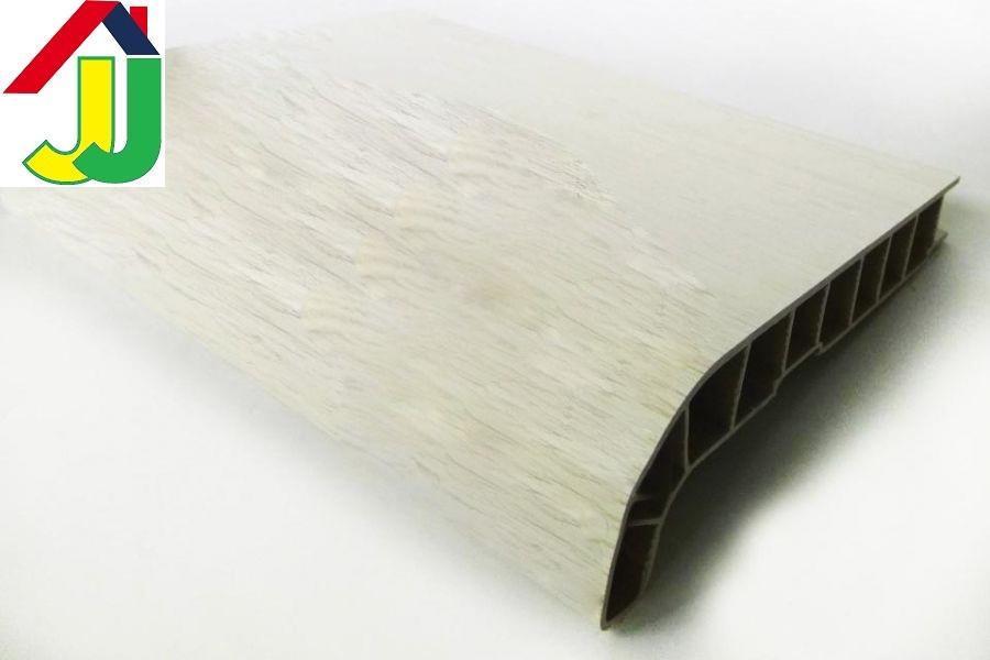 Подоконник Sauberg (Ламинация) Белый Дуб Матовый 400 мм влагостойкий, термостойкий, для окон