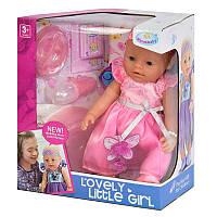 """Кукла- пупс функциональная 8020-472 """"Lovely Little Girl"""""""