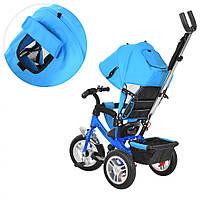 Велосипед коляска детский трехколесный