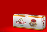 Черный чай Азерчай с бергамотом пакетированный 50 гр в конверте