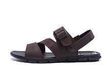 Мужские кожаные сандалии AND Denim Brown