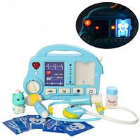 Детский набор доктор с фонендоскопом Синий