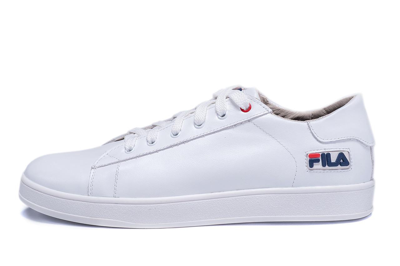 Чоловічі шкіряні кеди FILA Soft White Leather
