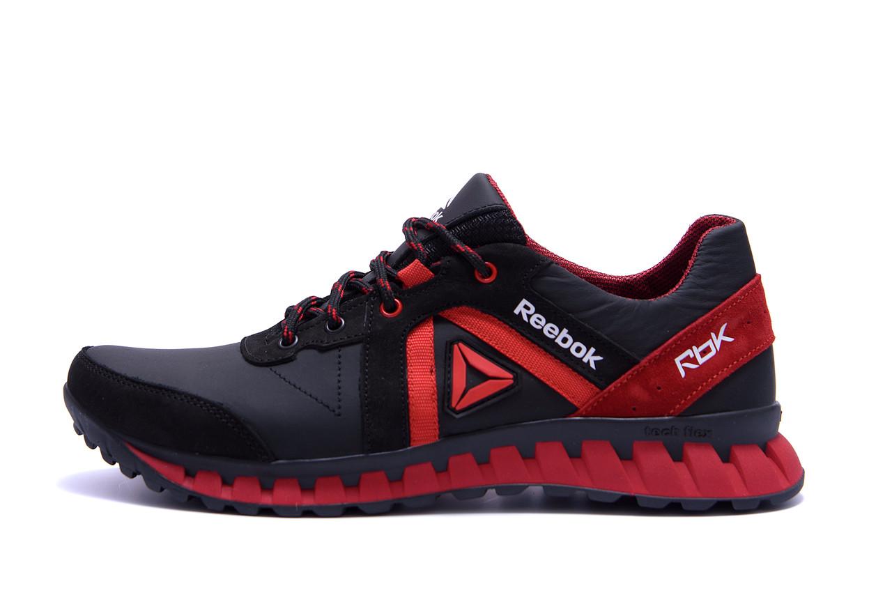 Мужские кожаные кроссовки  Reebok SPRINT TR  Red