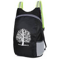 Компактний легкий рюкзак 15л чорний