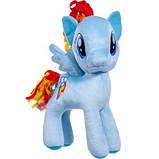 М'яка іграшка літл Поні блакитна Веселка Stip Молдова 30см, фото 2