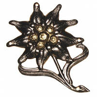 Значок металевий на берет Бундесверу «Едельвейс»