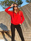 Женский спортивный стильный прогулочный костюм 42 44 46 размер, фото 2