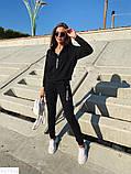 Женский спортивный стильный прогулочный костюм 42 44 46 размер, фото 4