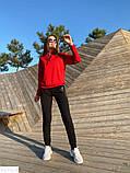 Женский спортивный стильный прогулочный костюм 42 44 46 размер, фото 3
