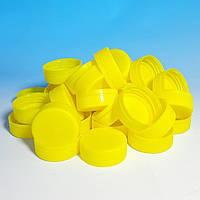 ПЭТ Крышка 38 мм Желтая, фото 1