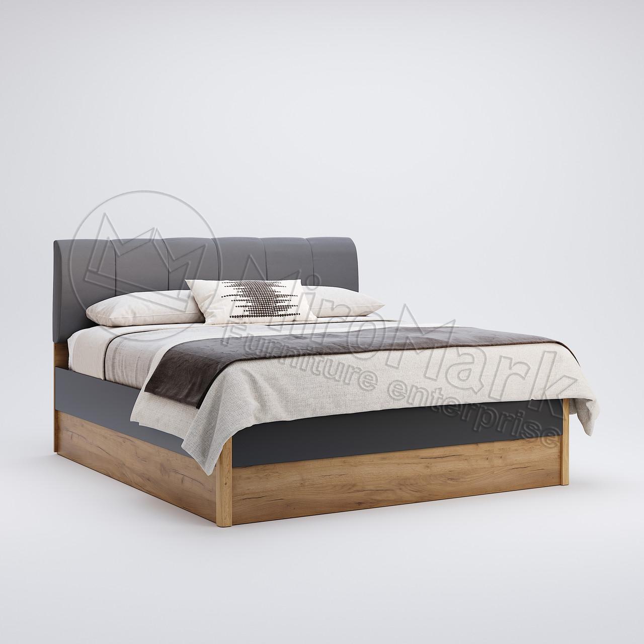 Кровать Рамона 160х200 мягкая спинка ТМ Миро Марк