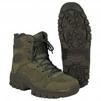"""Ботинки с высоким берцем MFH """"Commando"""" олива (тёмно-зелёные)"""
