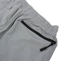 Мужские спортивные шорты Lesko B304 Gray размер L для тренировок спортзала, фото 3