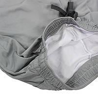 Мужские спортивные шорты Lesko B304 Gray размер L для тренировок спортзала, фото 4