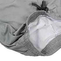 Спортивные шорты Lesko B304 Gray размер XL мужские для тренировок спортзала, фото 3