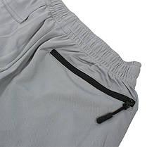 Спортивные шорты Lesko B304 Gray размер S мужские для тренировок спортзала, фото 2