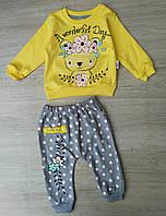 Костюм детский жёлтый на девочку 6 9 12 18 месяцев