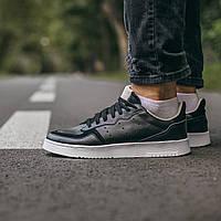 Чоловічі кросівки Adidas Supercourt Чорні, Репліка, фото 1