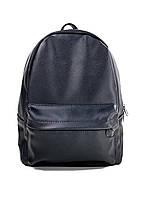 Черный спортивный мужской портфель из искуственной кожи, фото 1