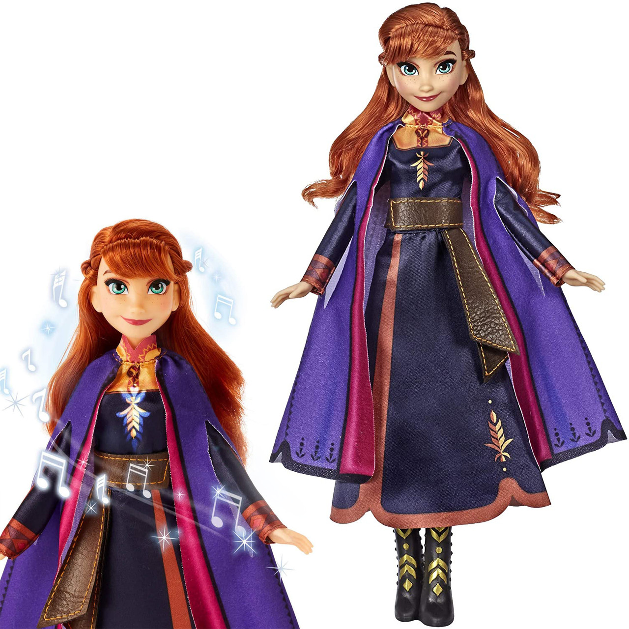 Холодное сердце 2 Кукла Анна Поющая Дисней Disney Frozen 2 Anna Singing