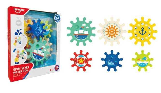 Игра для ванной HE 0260 (24) на присосках, в коробке