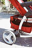 Прогулочная коляска CARRELLO Vista CRL-8505 во льне, Ruby Red, фото 6
