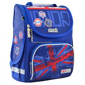 """Рюкзак шкільний каркасний Smart PG-11 """"London"""""""