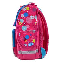Рюкзак шкільний каркасний Smart Сolourful spots Рожевий (555900), фото 2